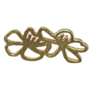 Stones and Findings Exclusive Gold Vermeille Double Sakura Charm