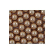 100. Crystal Faux PEARLS VINTAGE GOLD 4mm