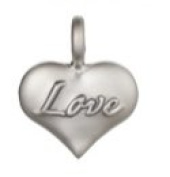 Ganz Artful Impressions - Heart with Love Charm