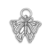 Butterfly Charm Sterling Silver