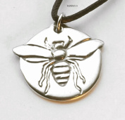 Bee - Pewter Pendant - Bee Keeper and Honey Jewellery, Necklace