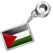 "Neonblond Bead/Charm ""Palestinian Authority Flag"" - Fits Pandora Bracelet"
