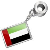 "Neonblond Bead/Charm ""United Arab Emirates Flag"" - Fits Pandora Bracelet"
