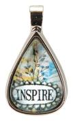Santa Barbara Design Studio Teardrop Shaped Jewellery Charm by Artist Sally Jean