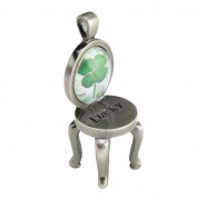 Santa Barbara Design Studio Chair Shaped Charm Pendant from Artist Sally Jean, Lucky