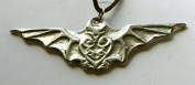 Bat Magic - Pewter Pendant - Animal Totem Jewellery, Nature, Necklace