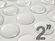 """50 Pcs. 2"""" - (50.8mm) Circle Epoxy Stickers"""