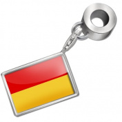 "Neonblond Bead/Charm ""Burgenland"" Flag region"