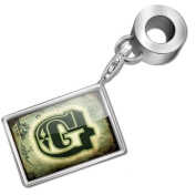 "Neonblond Bead/Charm ""G"" Vintage circus characters, old green letter - Fits Pandora Bracelet"