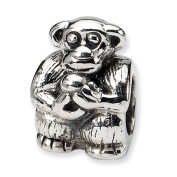 Sterling Silver Reflections Monkey Bead