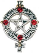 Venusian Pentagram for Love & Attraction Pendant Necklace Amulet Talisman Druid Pagan Charm