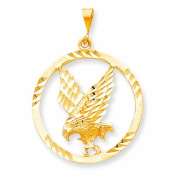 Genuine 10K Yellow Gold Eagle In A Frame Charm 4.7 Grammes Of Gold