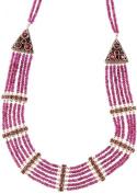 Faceted Garnet Necklace - Sterling Silver
