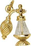 Rembrandt Charms Atomizer Charm, 10K Yellow Gold