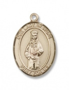 14kt Gold O/L of Hope Medal