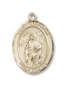 14kt Gold St. Deborah Medal
