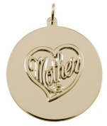Rembrandt Charms Mother Charm, 10K Yellow Gold