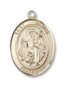 14kt Gold St. James the Greater Medal