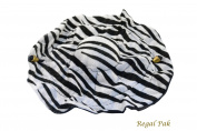 Regal Pak ® Elegant Zebra Print Clinch Pouch Diameter 25cm