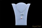 Regal Pak ® White Leatherette Necklace Easel 11cm X 14cm H