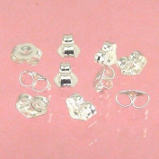 Sterling Silver 5mm Earring Backs