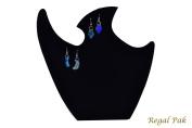 Regal Pak ® Black Velvet Necklace Stand 24cm X 24cm H