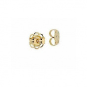 14k Yellow Gold 5mm Earring Backs