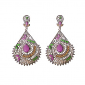 Twinkle Teardrops Earring Fashion Beadwork - Packed for Gift in Silver bag
