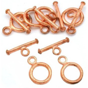 Toggle Clasps Copper Plated Jewellery Bead 13mm Approx 6