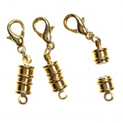7mm Magnetic Clasp with Lobster Claw, 6 Sets/pkg