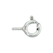 Sterling Silver 5.5 mm SpRing Clasp