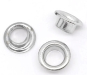 Housweety 250 Pairs Silver Tone Cores Fit Glass Beads