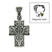 Maggies Jewellery Enhancer- #32313 Cross/ Scroll