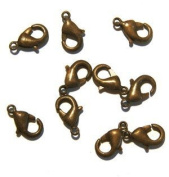 Lobster Clasp DuroPlateTM Chocolate 11mm