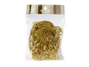100 (Approx.) Gold Mobile Phone Strap Strings with Lobster Clasps [Toys & Crafts]