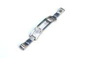 Non-Push Butterfly Stainless Steel Clasp for Metal Watchbands