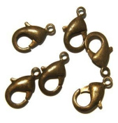 Lobster Clasp DuroPlateTM Chocolate 22mm