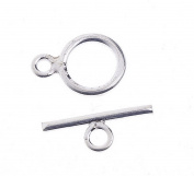 EOZY 7pcs 14*8mm Silver Plated Toggle Clasps Bracelet End Connector DIY Jewellery Fittings Accessory