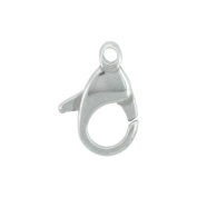 Sterling Silver 18 mm Trigger Clasp