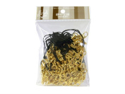 100 (Approx.) Black Mobile Phone Strap Strings with Gold Lobster Clasps [Toys & Crafts]