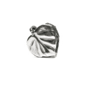 Novobeads Leaf Sterling Silver Clasp - Made in USA w imported materials - Fits all major bead bracelets