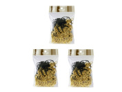 300 (Approx.) Black Mobile Phone Strap Strings with Gold Lobster Clasps [Toys & Crafts]