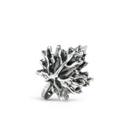 Novobeads Maple Leaf Sterling Silver Clasp - Made in USA w imported materials - Fits all major bead bracelets