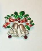 Avon Holiday Pin Sleigh Bells