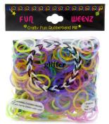 Funweevz Glitter Multi Pack Rubberbands Kit