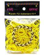 Neon Yellow Fun-Weevz Rubber Bands kit