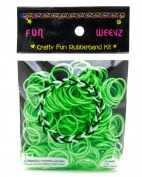 Fun Weevz Neon Grenn Rubber Bands Kit