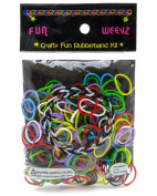 Fun Weevz Multicolor Rubber Bands Kit