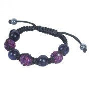 SHAMBALA Jewellery Making Kit, Amethyst and Blue Goldstone