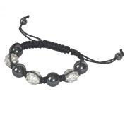 SHAMBALA Jewellery Making Kit, Crystal and Hematite